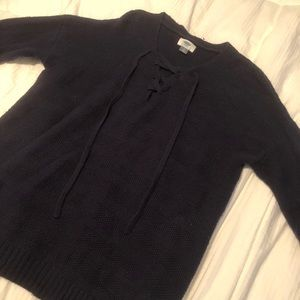 NWOT Navy blue Old Navy hockey style sweater
